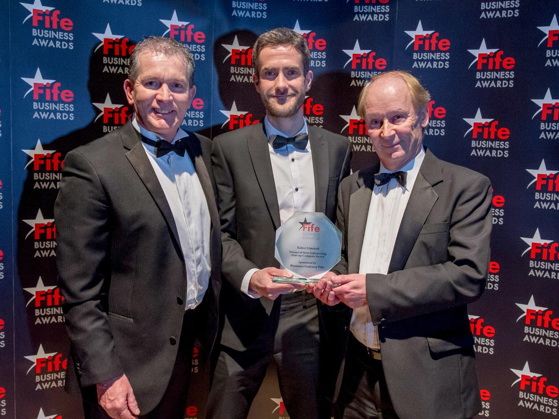 Xelect Win Most Enterprising Start-Up Award